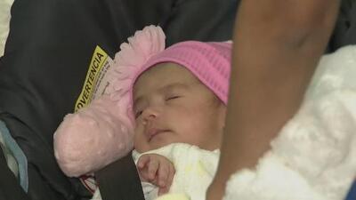 """""""Esa niña me ha curado todas las heridas"""": padre cubano tras obtener la custodia de su bebé en Miami"""