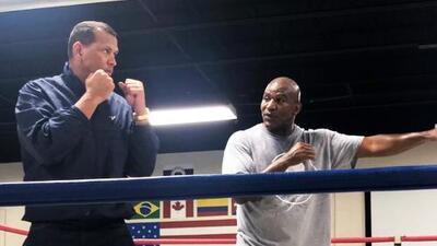 ¿Casualidad?: A-Rod entrena boxeo con Evander Holyfield después que Canseco lo retara a pelear