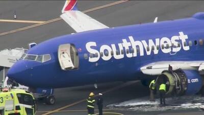 (VIDEO) Terror en vuelo de Southwest: muere la mujer que fue succionada por la ventana del avión