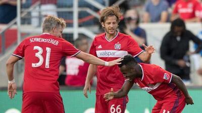 Los golazos del 'Rey David' mantienen a Chicago Fire encendido en goleada ante el Orlando de Kaká