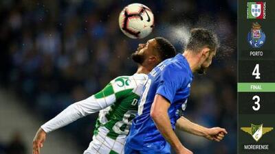 En juegazo, Porto derrotó a Moreirense y se ubicó en Cuartos de Final de la Copa