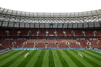 En fotos: así cerraron preparación para la semifinal Croacia e Inglaterra