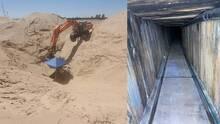 Encuentran narco túnel en la frontera de San Luis, Arizona y sorprende por su sofisticación