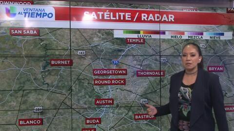 ¿Seguirán las tormentas en el centro de Texas?