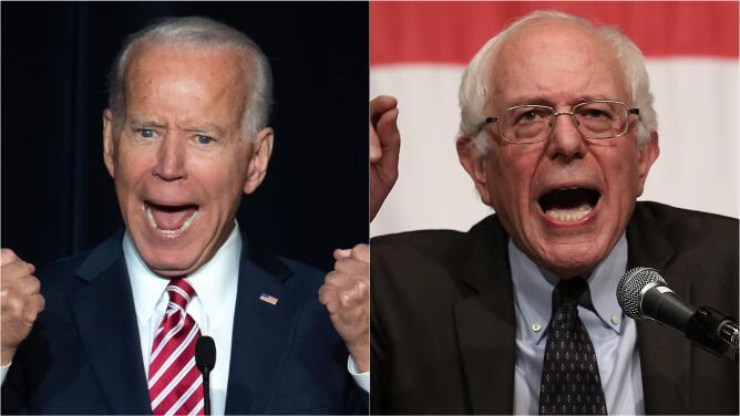 Biden y Sanders, enfocados en inclinar la balanza a su favor durante el Supermartes