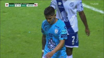 Increíble falla de Víctor Guzmán y se pierde el doblete