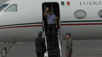 Tras un complicado periplo, Evo Morales llega a México como asilado político