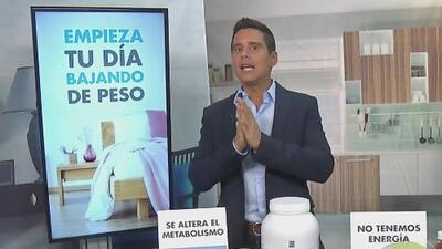 Cuida tu peso desde el comienzo del día, con los consejos de Alejandro Chabán y Yes You Can!