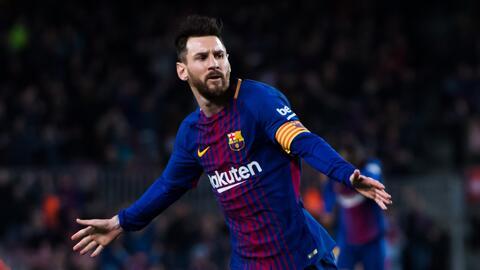 Lionel Messi amplió su ventaja en la tabla de goleadores de la Liga española