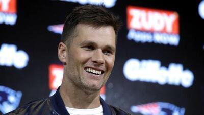 Tom Brady, emocionado por jugar con Antonio Brown