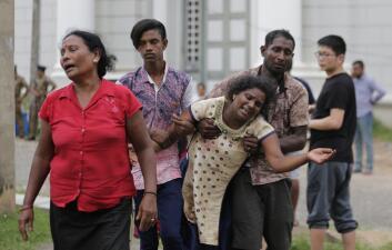Las imágenes de los sangrientos atentados contra iglesias y hoteles que sacudieron a Sri Lanka este Domingo de Pascua