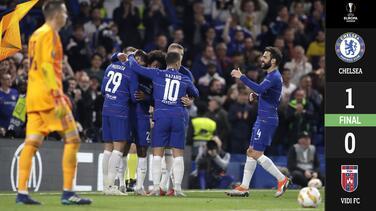 Sin mucha puntería, Chelsea derrota al Vidi por la mínima en la Europa League