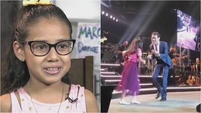 Conoce a la niña hispana que se robó el corazón de Marc Anthony a ritmo de salsa