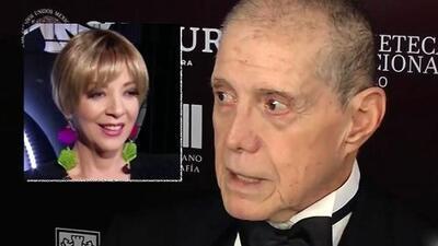 Héctor Bonilla recordó el día que conoció y le rompió la nariz a Edith González