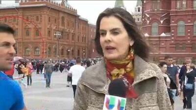 Periodista de Univision cuenta cómo fue la agresión que sufrió en el Mundial de Rusia