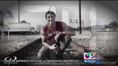 Insólito: grababa sus lagartijas, cuando el metro lo mató