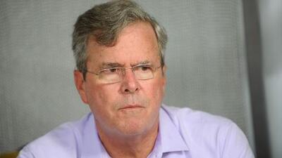 Jeb Bush dice por qué no está de acuerdo con el nuevo plan migratorio apoyado por Trump