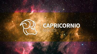 Capricornio – Martes 22 de noviembre: Un aura conquistadora