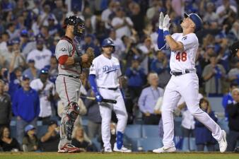 En Fotos: Los Dodgers blanquean a los Nationals en el Juego 1