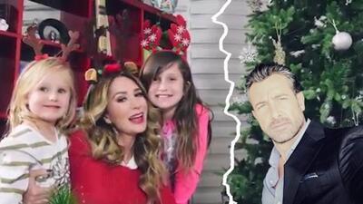 Así fue la Navidad de Geraldine Bazán con sus hijas luego de la ruptura con Gabriel Soto