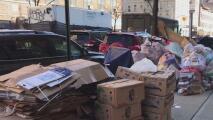 """""""Es un problema sistemático"""": crece el malestar por la acumulación de basuras que invaden calles de Nueva York"""