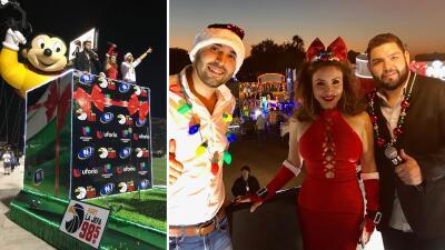 El Free-guey show brilló en el desfile navideño del Valle de Texas 🎅🏽🎄