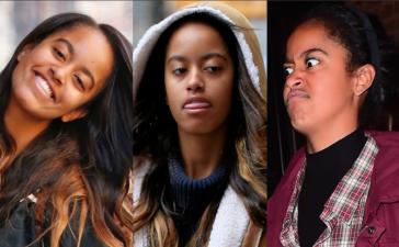 Las caras de Malia Obama que dicen todo lo que piensa de los paparazzi