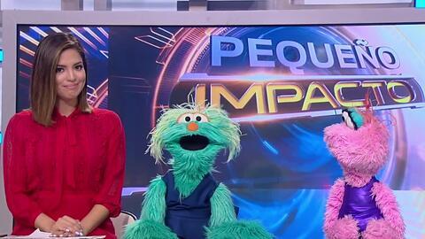 Pequeño Impacto: Con Rosita y Lola de Sesame Amigos