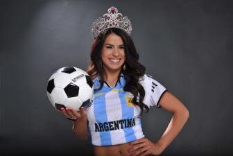 Vanessa de Roide habló de fútbol