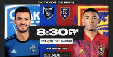 San Jose Earthquakes y Real Salt Lake buscan dejar su marca en MLS is Back