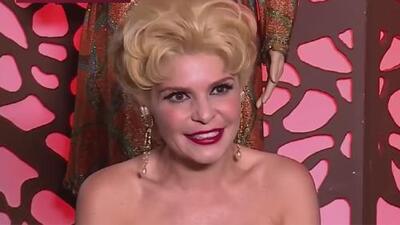 Itatí Cantoral habla sobre su nuevo papel en la telenovela 'Silvia Pinal, frente a ti' que se estrenó en Univision