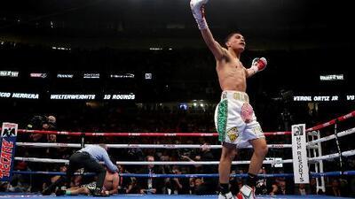 """""""Ser el mejor del mundo, libra por libra"""", el sueño de Vergil Ortiz tras el KO al 'Maestro' Herrera"""