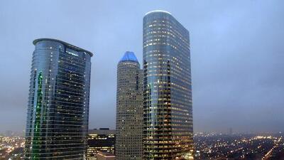 Las lluvias llegan a Houston en la tarde y noche de este miércoles, apaciguando un poco el calor extremo