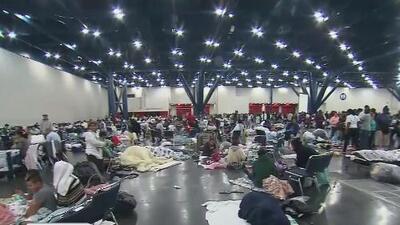 Hispana en Houston muestra el lugar que se ha convertido en su hogar tras el paso de Harvey