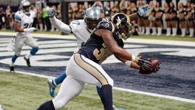 Rams 21-14 Lions: Despertó el novato corredor Todd Gurley, 140 yds. con 2 TD (video)