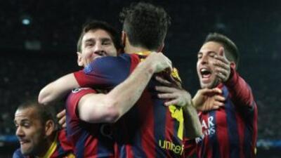 Barcelona 2-1 Manchester City: Messi y los 'culés' resurgen a costa del City