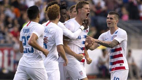 La joven generación del Team USA se medirá en amistosos ante Brasil, Inglaterra, Italia y México