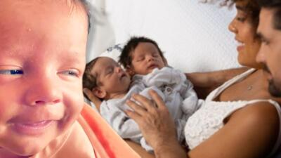 """""""Que se haga tu voluntad"""": la pareja de Ferdinando Valencia le entrega a Dios a su bebé Dante"""