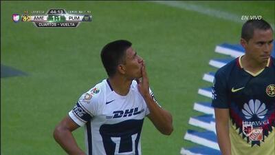 Jesús Gallardo le pone algo de dignidad a Pumas y empata el partido