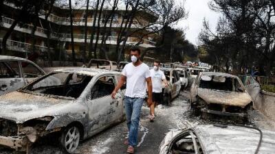 """Pueblo de Grecia fue devorado por un incendio que cobró más de 70 vidas: """"Mati ya no existe"""""""