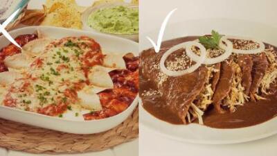 Te enseñamos la forma correcta de preparar enchiladas