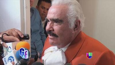 Don Vicente Fernández reveló si va a hacer un dueto con Juan Gabriel