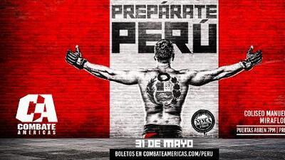 Allá vamos Sudamérica: Combate Américas debutará en Perú