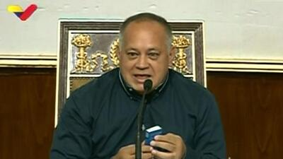 US in secret talks with Venezuela's socialist boss Diosdado Cabello