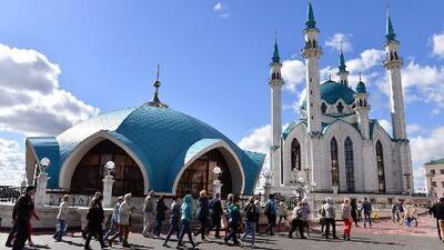 Así es Kazán, la sede más pintoresca del Mundial en Rusia