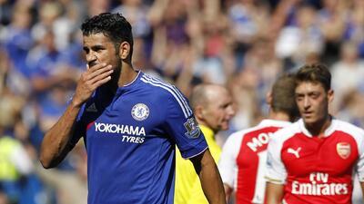 La FA suspende tres partidos a Diego Costa por el incidente ante Arsenal