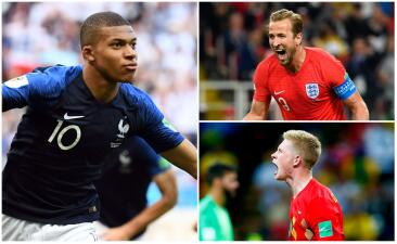 Francia manda en el XI más costoso de las semifinales del Mundial de Rusia 2018