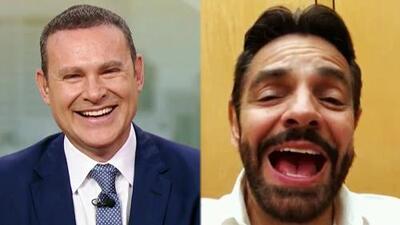 """Eugenio Derbez bromea al felicitar a Despierta América por su nueva etapa """"sin Alan Tacher"""" (y él le responde)"""