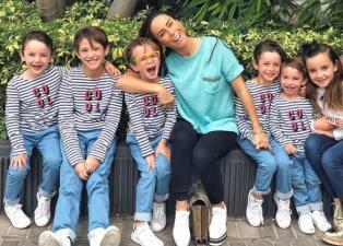 Inés Gómez Mont espera a su séptima hija tan emocionada como si se tratara de la primera