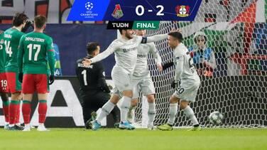 Leverkusen venció al Lokomotiv y ahora depende de Juventus